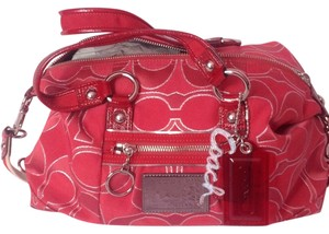 Coach Satchel in Ruby