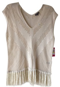Vince Camuto Top Antique white