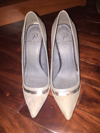 Adrianna Papell Grey Pumps Image 1