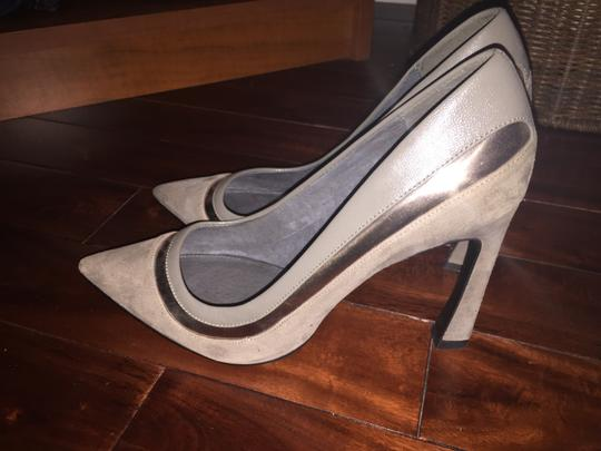 Adrianna Papell Grey Pumps Image 2