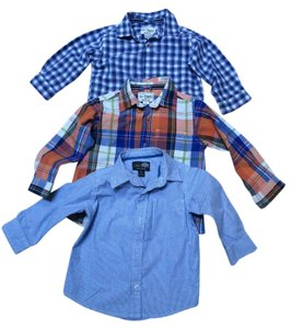 The Children's Place Boy Kids Baby Boy Toddler Button Down Shirt Multi