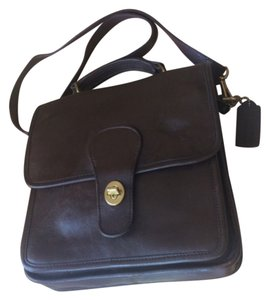 Coach Chocolate Messenger Bag