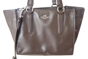 Coach Small Crossover Strap Tote in Brown