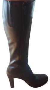 Charles David chocolate brown Boots