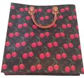 Louis Vuitton Tote in Brown,Red,Green