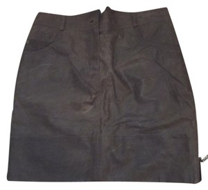 Dior Mini Skirt Grey