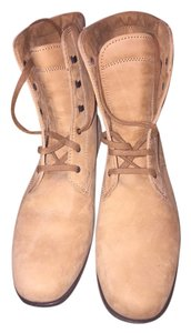 Tod's Suede Light Leather Tan Boots