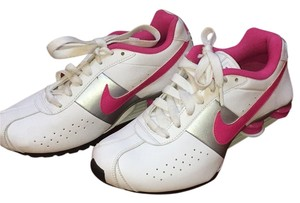 Nike White, pink Athletic