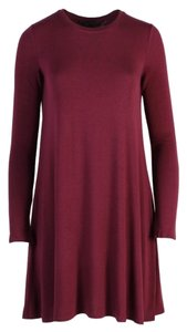 BCBGMAXAZRIA short dress Merlot on Tradesy