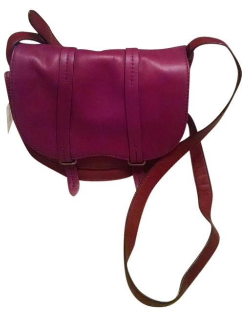 Item - Equestrian Desire Red Leather Cross Body Bag
