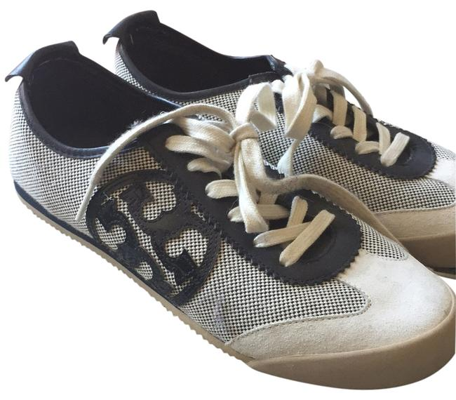 Item - Navy and Cream Sneakers Size US 9 Regular (M, B)
