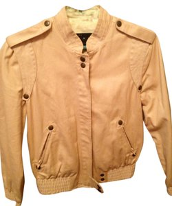 Marc by Marc Jacobs Elastic Studded Tan Jacket