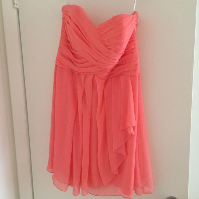 Item - Coral Reef Polyester F14847 Casual Bridesmaid/Mob Dress Size 14 (L)
