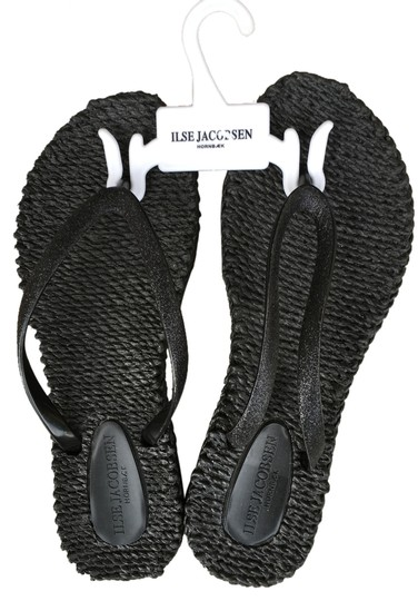 Isle Jacobsen Classic Black Sandals