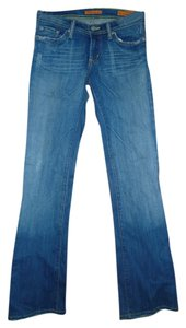 Plastic by Gly Boot Cut Jeans-Distressed
