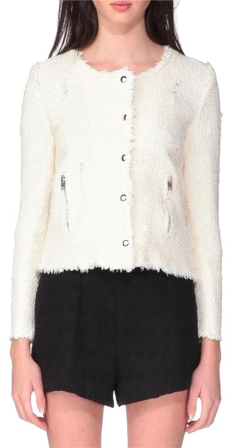 IRO Elizabeth And James Isabel Marant Chanel The Row Tibi Chalk Jacket