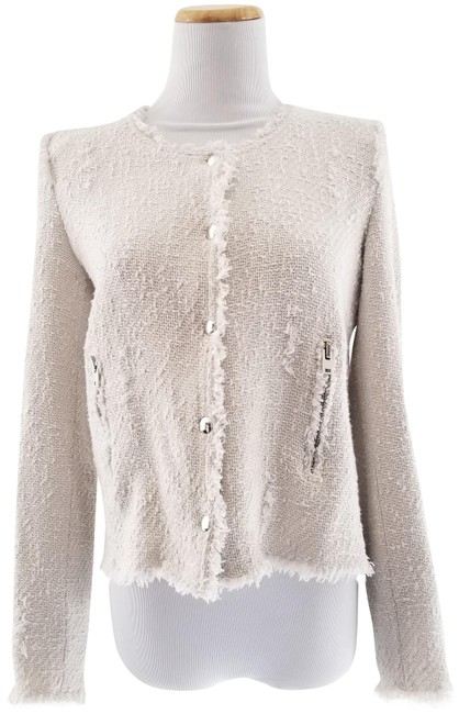Preload https://item5.tradesy.com/images/iro-white-agnette-distressed-tweed-spring-jacket-size-6-s-10573969-0-7.jpg?width=400&height=650