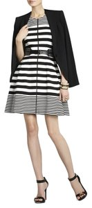 BCBGMAXAZRIA short dress Strip Dress on Tradesy