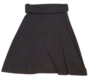Old Navy Jersey Skirt Charcoal Grey