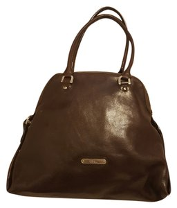 Cole Haan Satchel in Dark Brown Mahogany