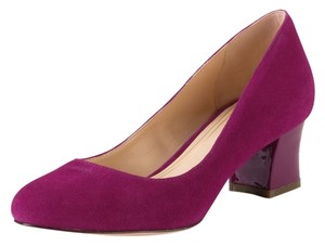 Cole Haan Lucinda Oxford New Beet/Seqouia Tan/Pink Pumps