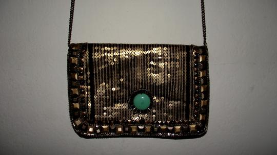 Kimchi Blue Urban Outfitters Faux Leather Trendy Sparkly Cross Body Bag