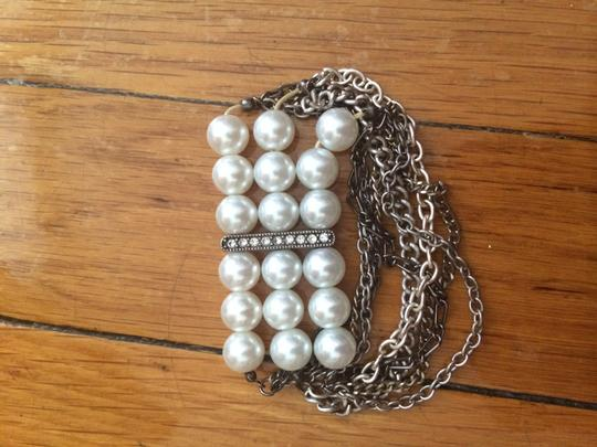 Other Pearl bracelet with chains