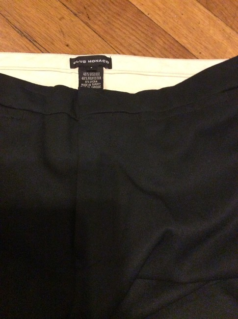 Club Monaco Wide Leg Pants Black