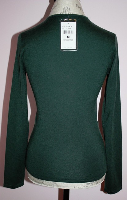 Ralph Lauren Rl Black Label Purple Label Collection Olive Hunter Christmas Holidays St Patrics Fall Winter Classic V-neck Faux Wool Sweater