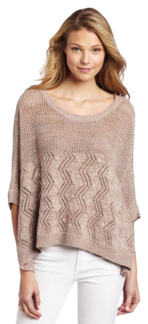 Preload https://item3.tradesy.com/images/nordstrom-beige-knited-sweater-design-history-ponchocape-size-4-s-10575757-0-1.jpg?width=400&height=650