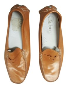 Cole Haan Orange/Gold Flats