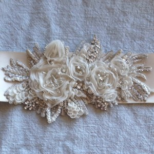 Anne Barge Stunning Ivory Anne Barge Bridal Belt