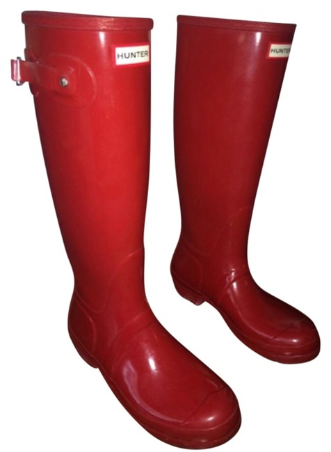 Item - Red Boots/Booties Size US 9 Regular (M, B)
