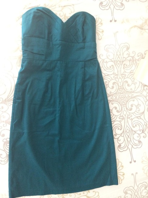 Forever 21 Sweetheart Fitted Strapless Party Sexy New Year's Cotton Dress