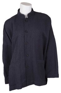 Eskandar Button Down Shirt Navy