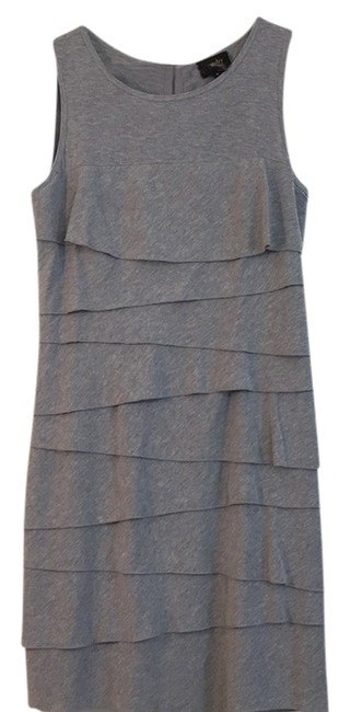 Preload https://item5.tradesy.com/images/laundry-by-shelli-segal-light-grey-knee-length-short-casual-dress-size-12-l-10576384-0-1.jpg?width=400&height=650