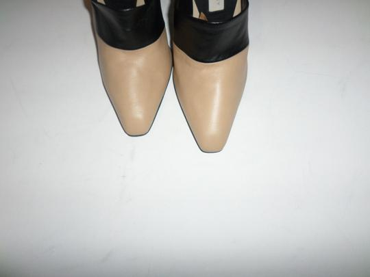 Stella McCartney Tan with black Wedges