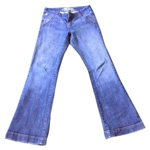 !iT Jeans It Trouser/Wide Leg Jeans-Medium Wash