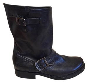 Frye Bootie Veronica Leather Black Boots
