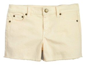 J.Crew Cuffed Shorts Ecru/ Off White