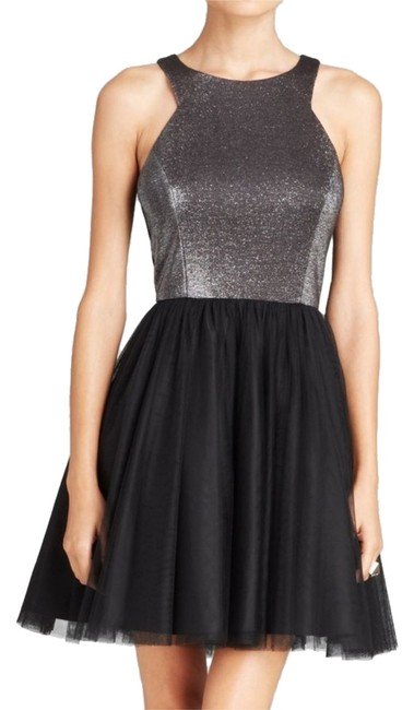 Preload https://item1.tradesy.com/images/aqua-black-silver-style-type-party-above-knee-cocktail-dress-size-2-xs-10577830-0-1.jpg?width=400&height=650
