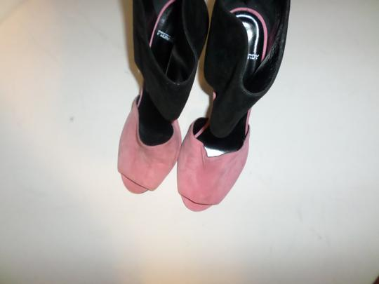 Pierre Hardy Black and pink Sandals