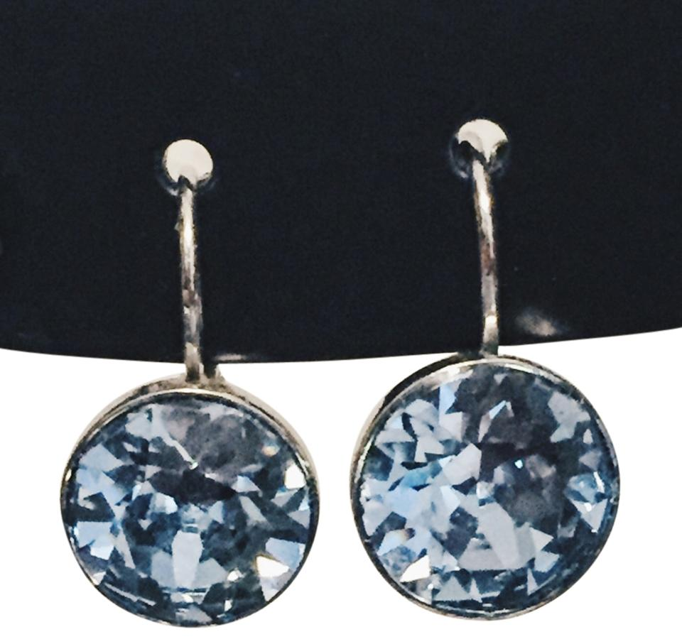 9d77d87e8 Swarovski Light Blue Bella Mini Pierced Earrings - Tradesy