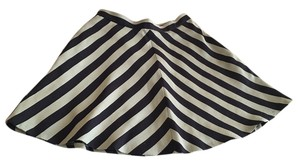 Club Monaco Skirt navy blue and teal