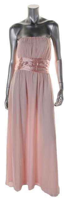 Item - Pink Style Type: Evening Long Cocktail Dress Size Petite 12 (L)