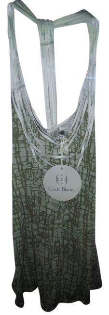Costa Blanca Summer Casual Top multi- white and beige