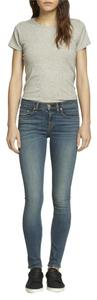 Rag & Bone Designer Denim Skinny Jeans-Medium Wash