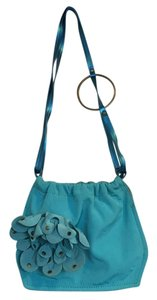 Miss Sixty Satchel in Turquoise Blue
