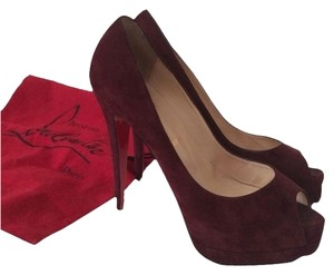 Christian Louboutin Plum Pumps