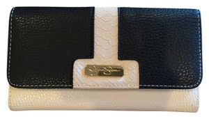 Jessica Simpson Jessica Simpson Sammy Wallet Black/Cream Leather
